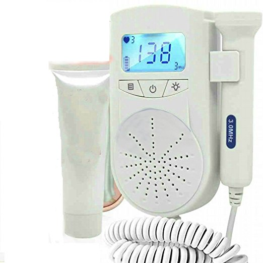 coybely pocket doppler baby heart monitor