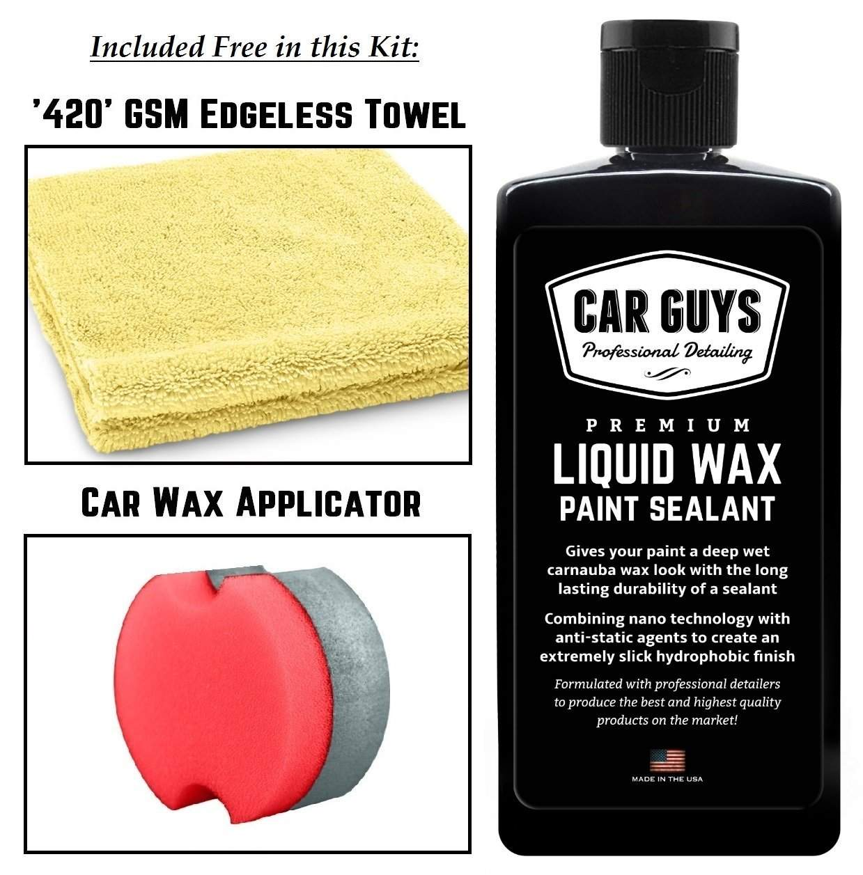 Car Guys Liquid Wax Review
