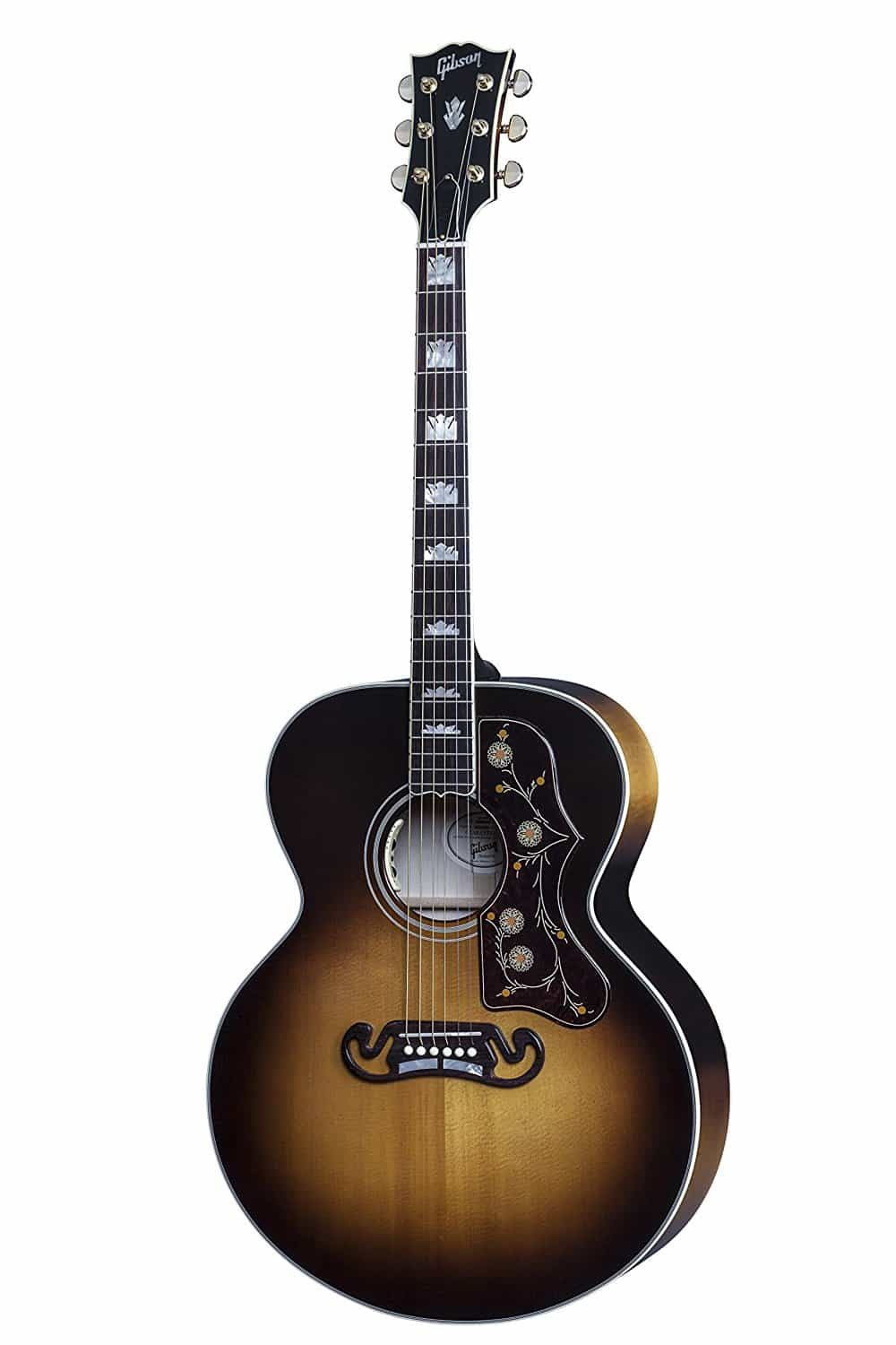 Acoustic electric gibson guitar