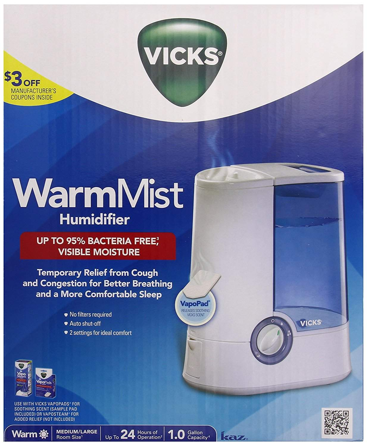 warm mist humidifier for cough