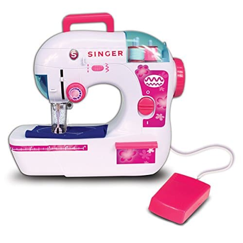 singer zigzag chainstitch toy sewing machine a2207
