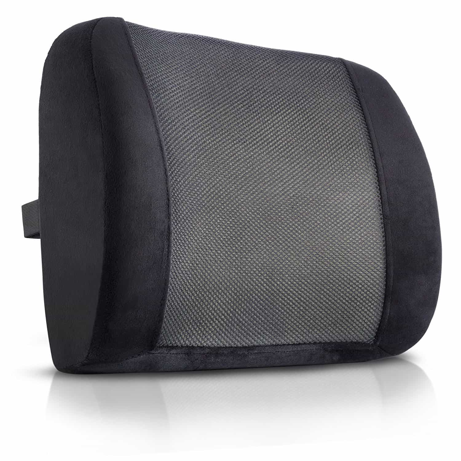 car seat back pain lumbar support