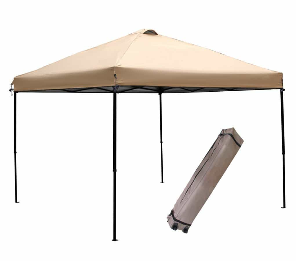 wind resistant beach canopy