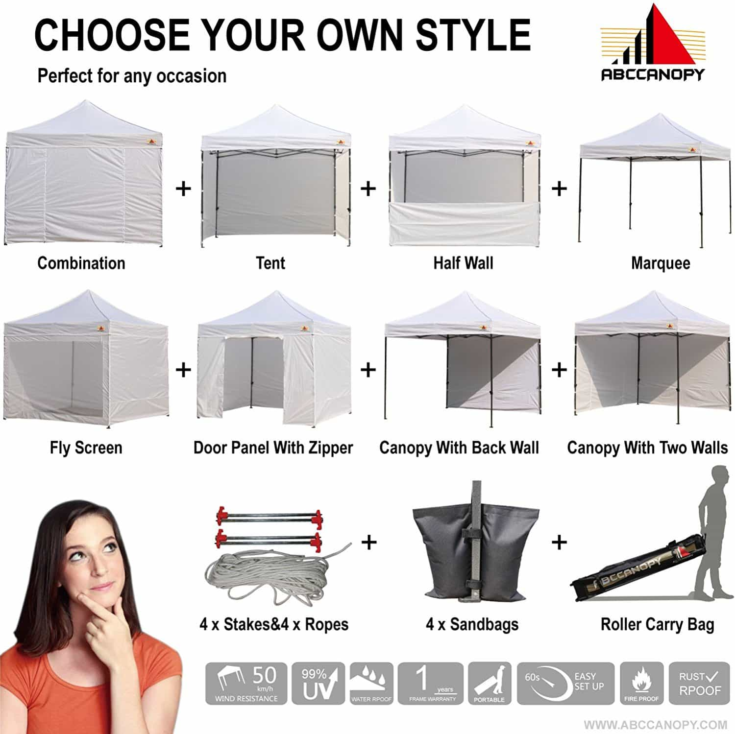 heavy duty canopy 10x10