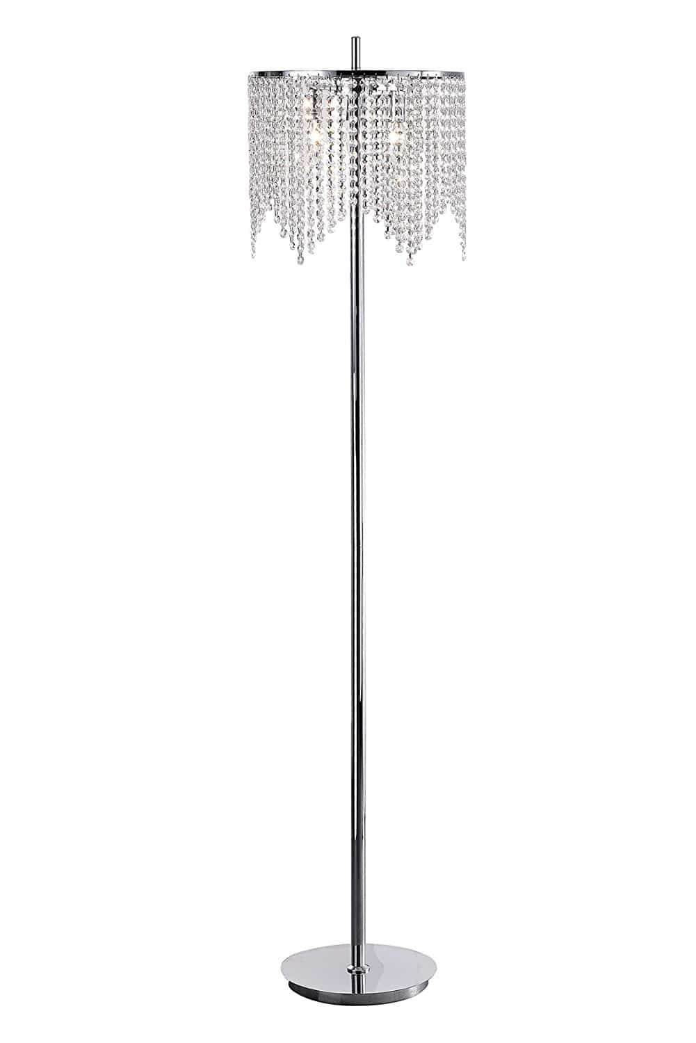 crystal floor lamp cheap
