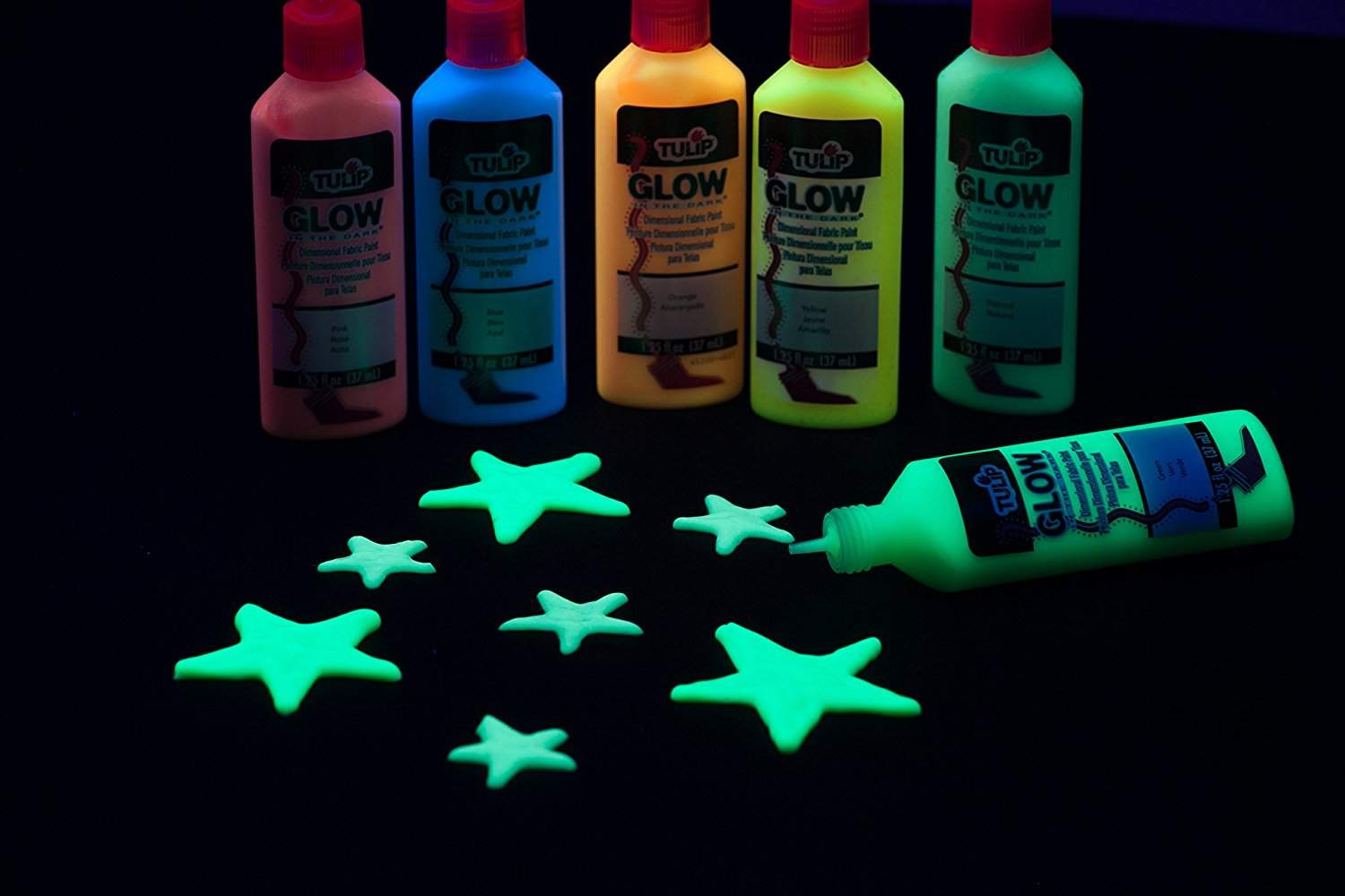 glow in the dark spray paint michaels