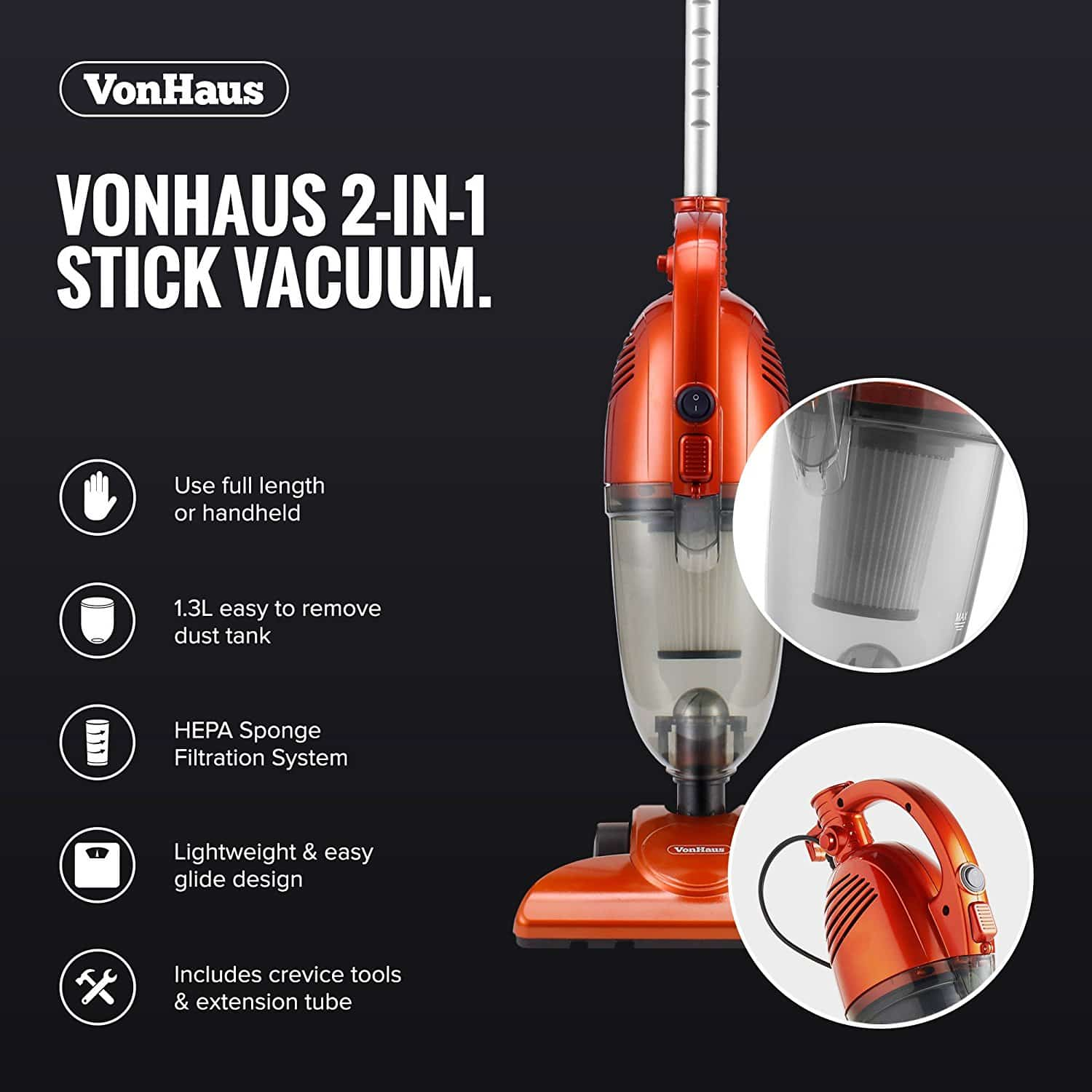 best corded stick vacuum for laminate floors