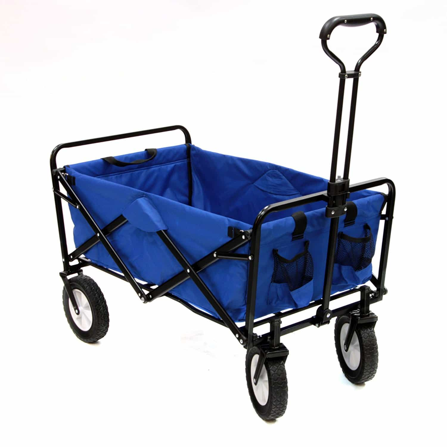 best garden cart mac sports collapsible folding outdoor utility wagon