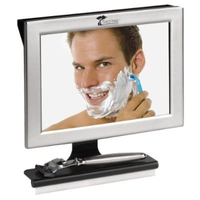 heated fog-free shower mirror