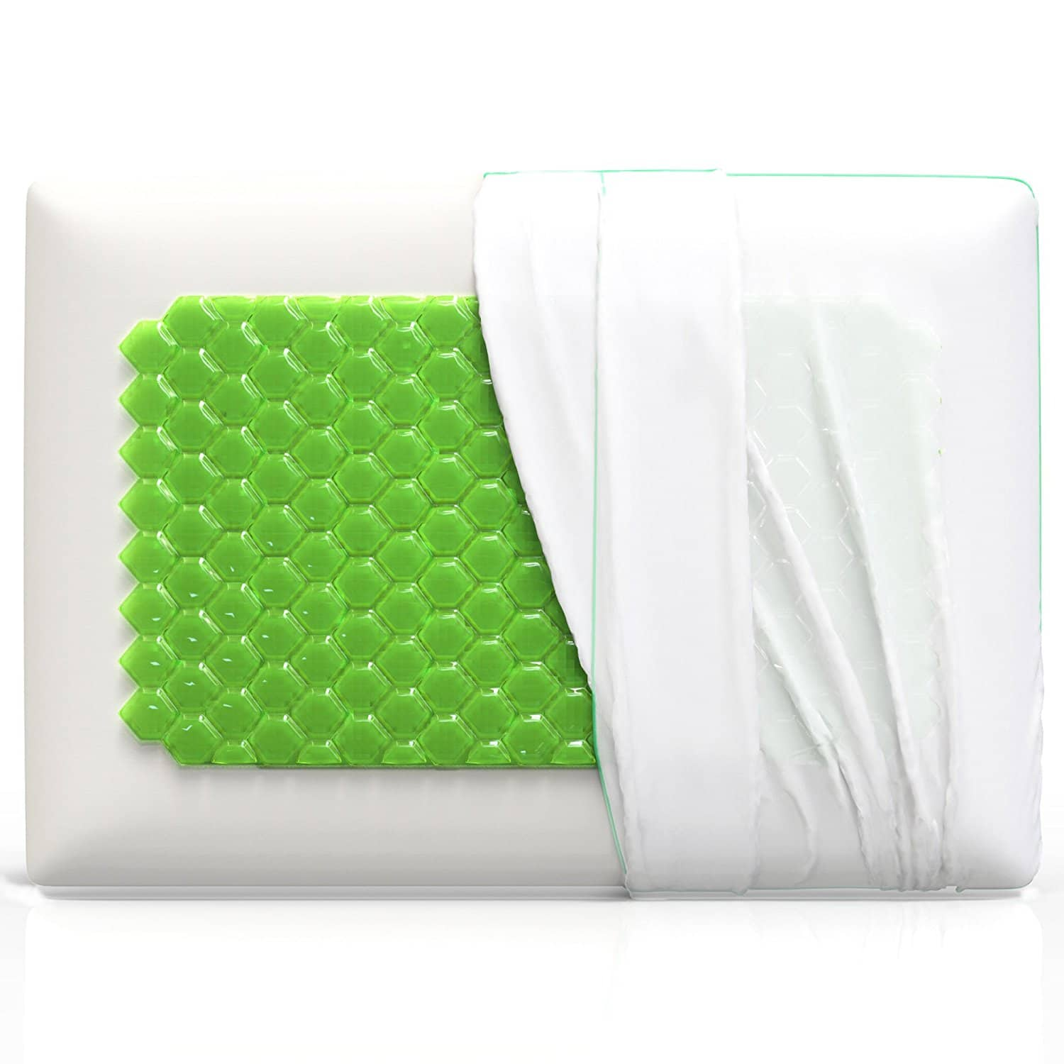 orthopedic memory foam pillow by laniloha