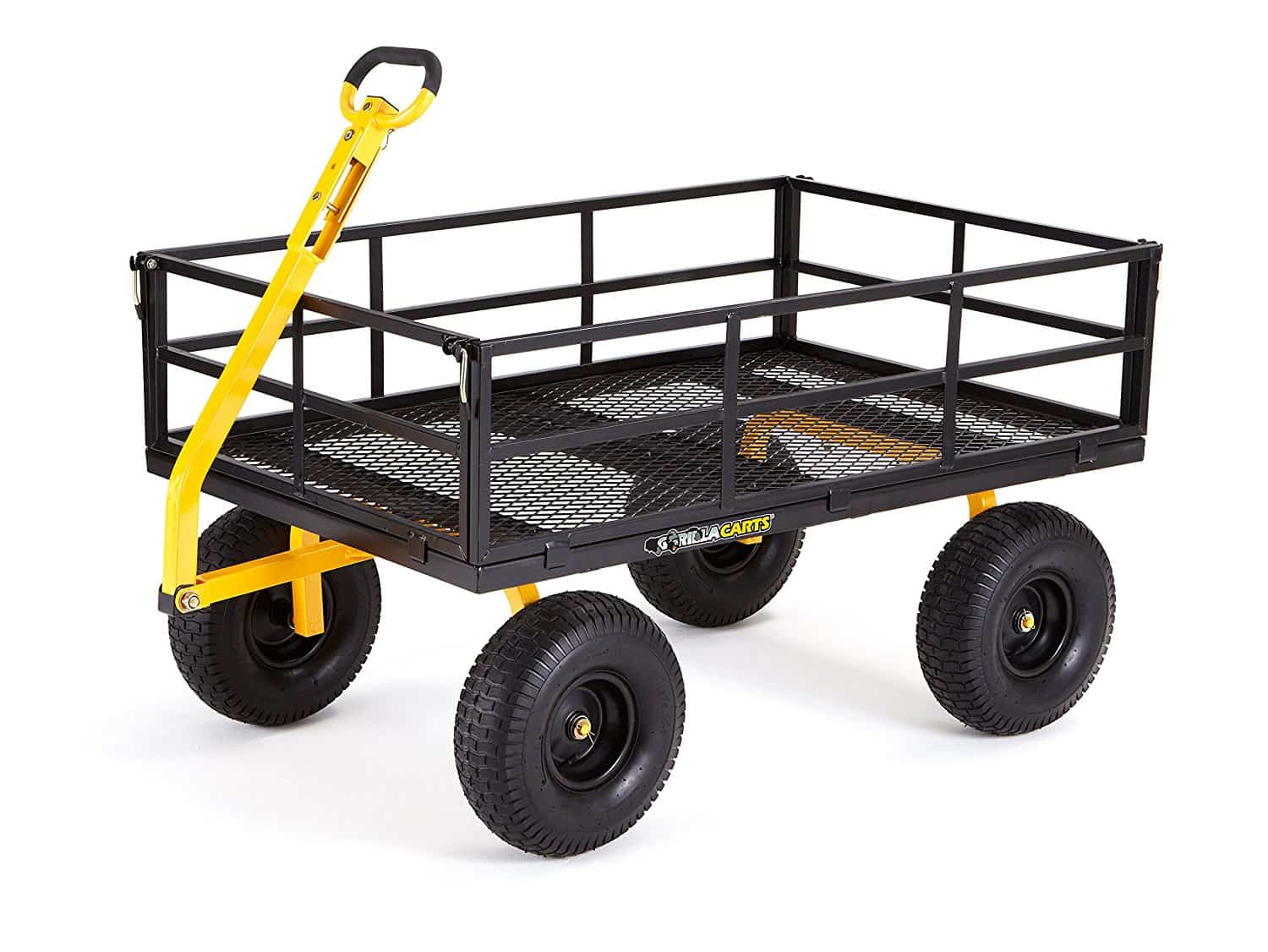best garden cart gorilla carts gor1400 com