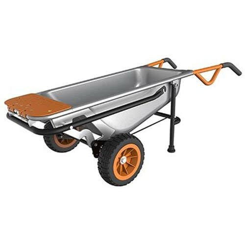 best garden cart worx multifunction aerocart