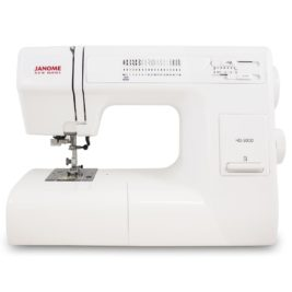 4 - janome hd3000 heavy duty mechanical sewing machine