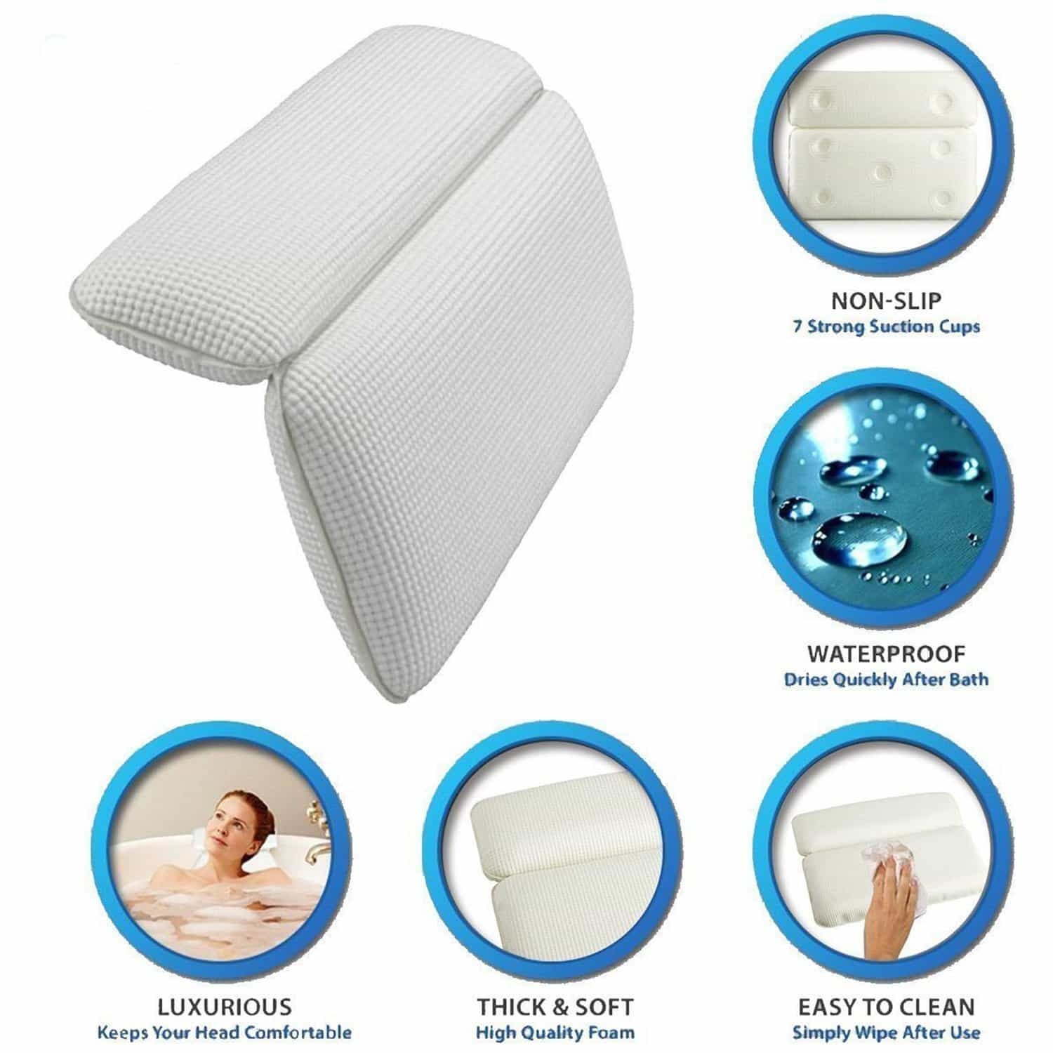 best bath pillows bath pillow reviews