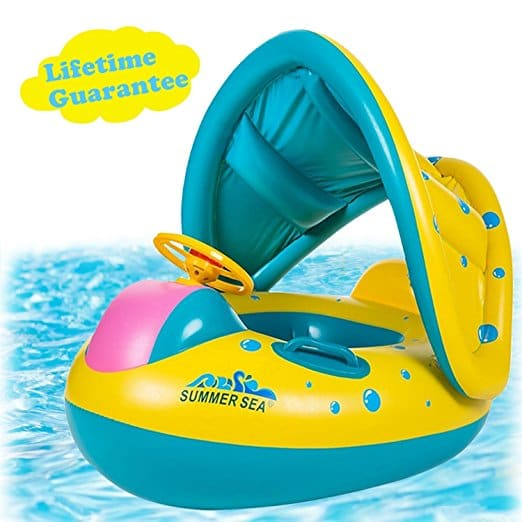 infant pool float 6 months