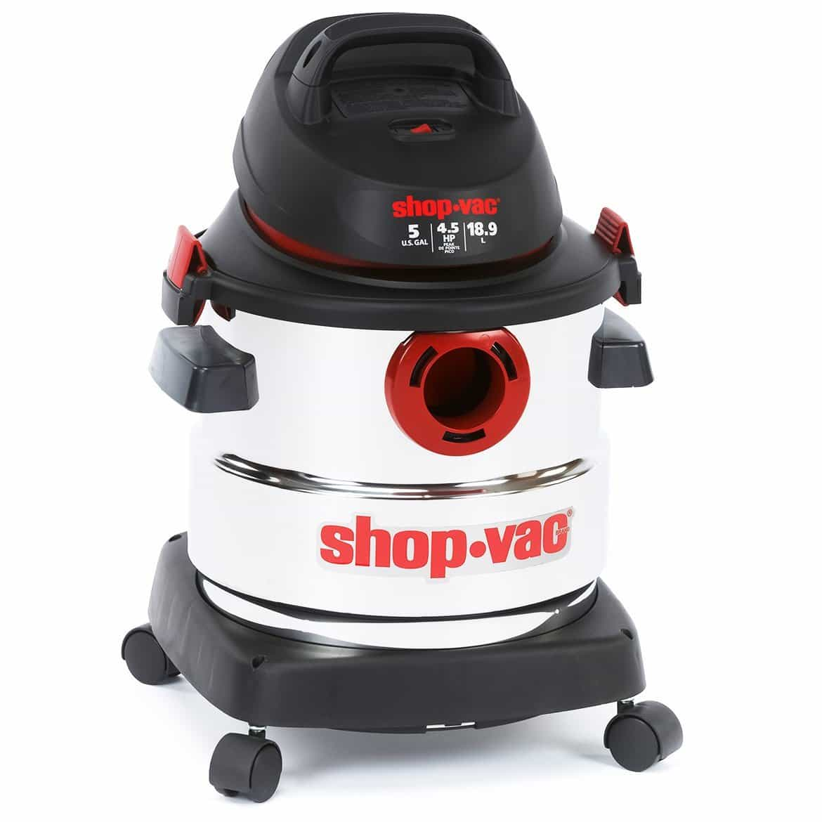 shop vac 5 gallon